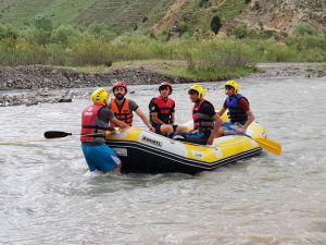 Hakkari Rafting takımları Türkiye müsabakalarına hazır