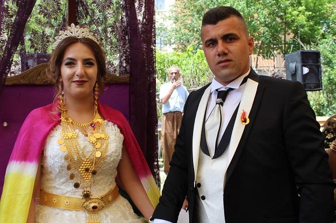 Perihan & Jiyan çiftin mutlu günü galerisi resim 1