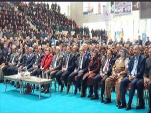 Hakkari'de Ak Parti'nin Aday tanıtım toplantısı