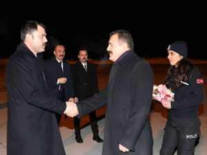 Bakan Murat Kurum'un Hakkari ziyareti!