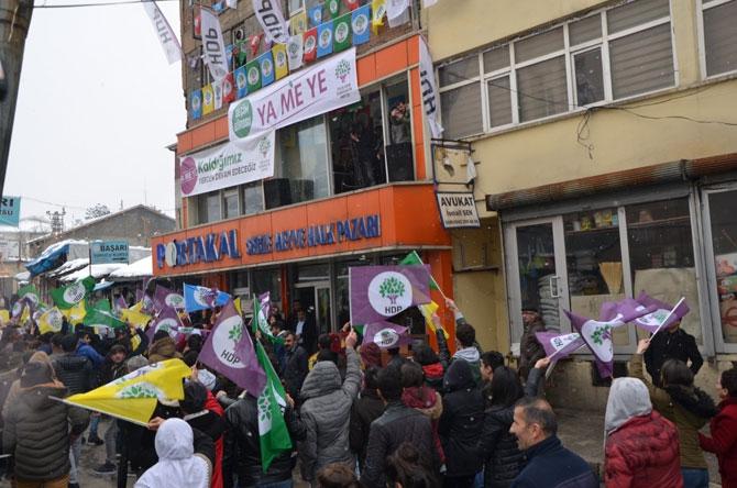 HDP Hakkari'de seçim bürosu açtı! galerisi resim 12