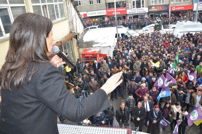 HDP Hakkari'de seçim bürosu açtı! galerisi resim 7