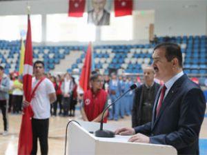 Hakkari'de 19 Mayıs kutlamaları