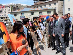 Güzel Sanatlar Lisesi öğrencilerinin sergisi açıldı