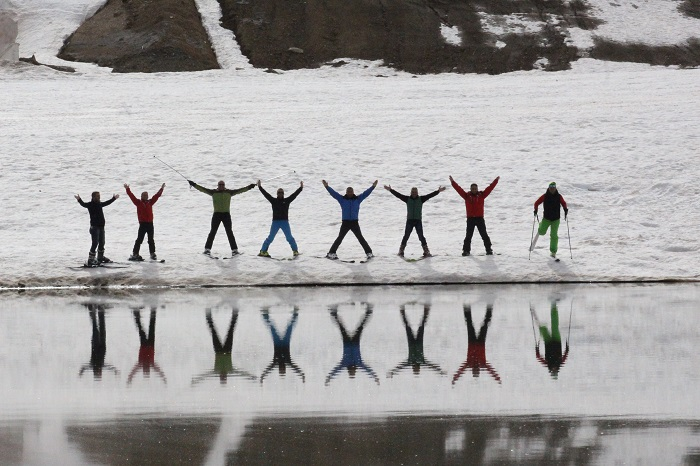 Hakkari'de kayak sezonu kapandı galerisi resim 1