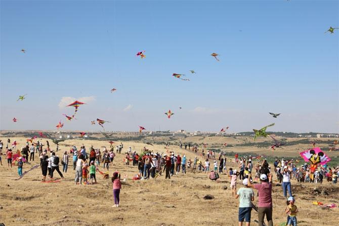 Diyarbakır'da uçurtma şenliği düzenlendi galerisi resim 1