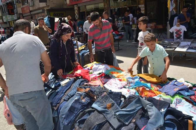 Hakkari'de bayram pazarı kuruldu! galerisi resim 11