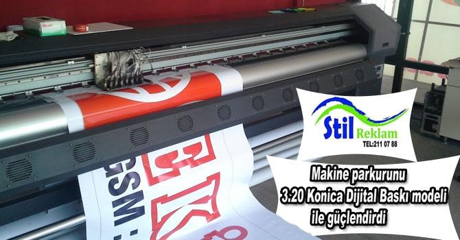 Stil Reklam, makine parkurunu Konica Dijital Baskı modeli ile güçlendird galerisi resim 1