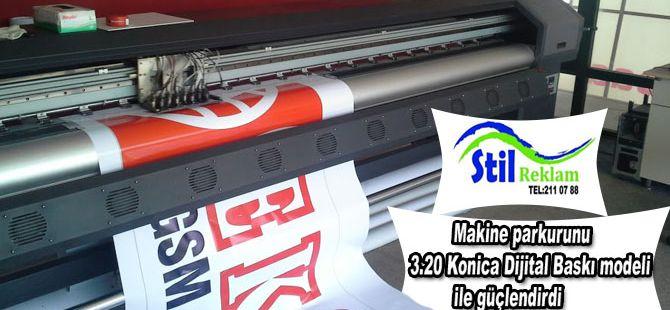 Stil Reklam, makine parkurunu Maxima modeli ile güçlendirdi.
