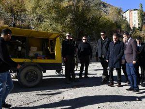 Vali Akbıyık Aktütün ve Konur köylerini ziyaret etti