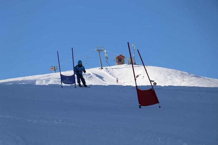 Hakkari'de kayak yarışması düzenlendi galerisi resim 1