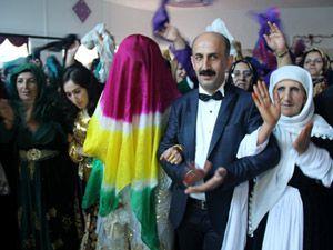 HDP Hakkari Milletvekili Akdoğan dünya evine girdi