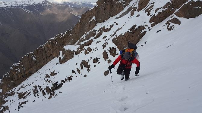 Hakkari'de Kış Mevsiminde Sümbül Dağı'na İlk Tırmanış galerisi resim 1