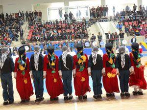 Hakkari'de halk oyunları yarışması düzenlendi