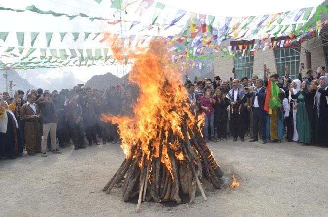 Hakkari'de Newroz coşkusu galerisi resim 1