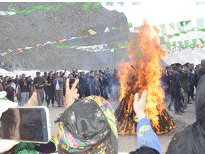 Hakkari'de Newroz coşkusu