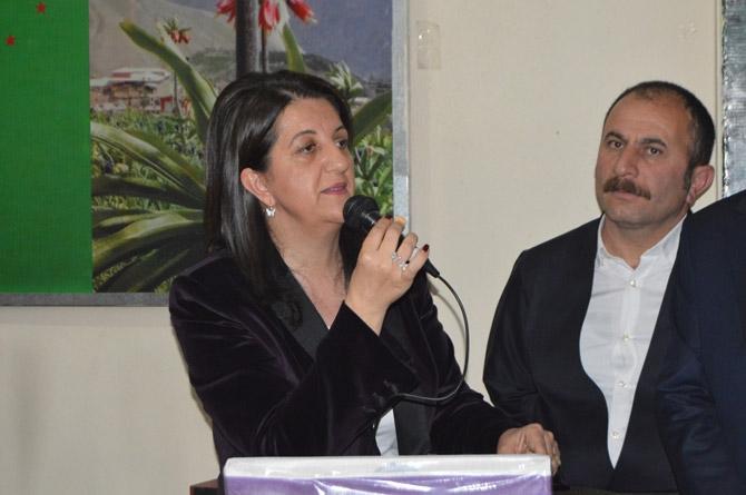 HDP Eş Genel Başkanı Buldan Hakkari'de galerisi resim 12