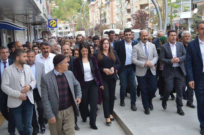 HDP Eş Genel Başkanı Buldan Hakkari'de galerisi resim 2