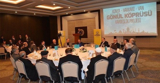 Konya-Hakkari-Van 'Gönül Köprüsü' kardeşlik Projesi