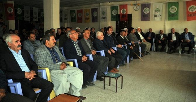 HDP'li Vekiller Yüksekova'da Halk Toplantısına Katıldı