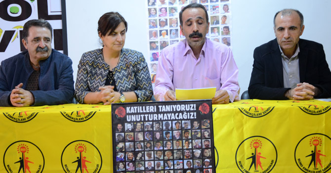 Hakkari'de 10 Ekim Ankara Garı katliamı kınandı