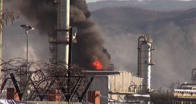 TÜPRAŞ'ta patlama: 4 ölü, 2 yaralı
