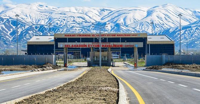 Yüksekova Selahaddin Eyyubi Havalimanında 18 Bin 823 Kişi Uçtu