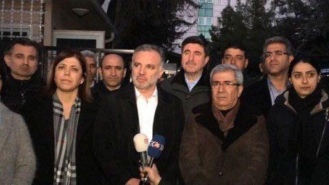 Serbest bırakılan HDP Sözcüsü Bilgen'den ilk açıklama