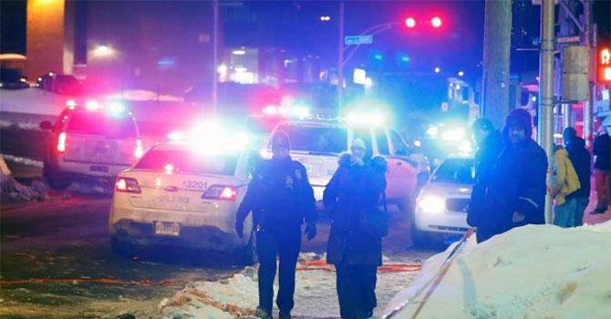 Kanada'da camiye saldırı: 5 kişi öldü