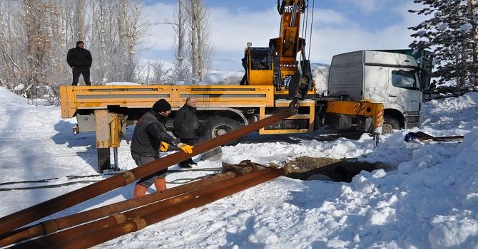 Yüksekova'da Büyük Sondaj arızalandı, İki gün Boyunca Su Seviyesinde Azalma Olacak