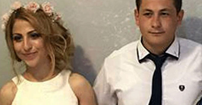 Düğün günü gelini öldürdü