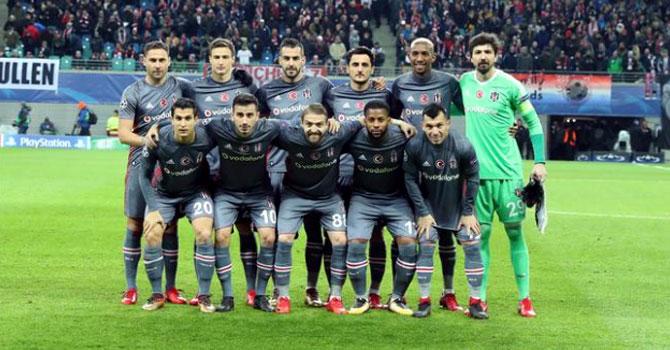 Beşiktaş rekor puanla grup lideri oldu