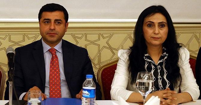 İddianameleri kabul edildi: Demirtaş'a 142, Yüksekdağ'a 83 yıl hapis istemi