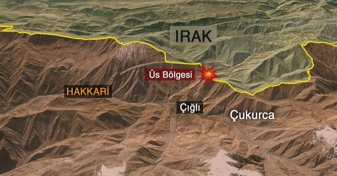 Çukurca'da patlama: 1 asker şehit oldu