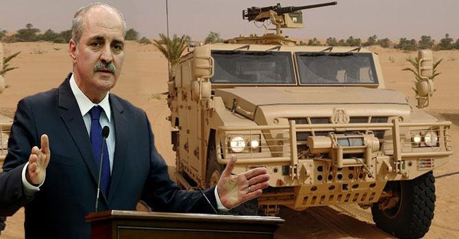 Kurtulmuş'tan PYD'ye gönderilen silahlara tepki