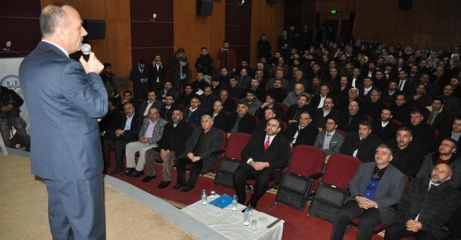 Yüksekova Kaymakamlığı İlçe Müftülüğünün Şubat ayı mutad toplantısı yapıldı