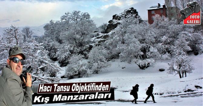 Hacı Tansu Objektifinden Kış Manzaraları