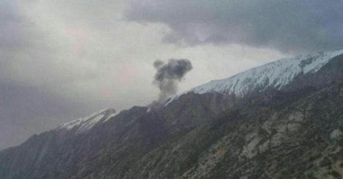 Özel Türk jeti İran'da düştü 11 kişi hayatını kaybetti