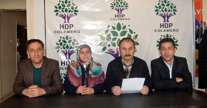 Hakkari Newroz tertip komitesinden açıklama