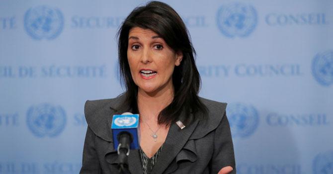 ABD'den Suriye açıklaması: BM yetersiz kalırsa ABD harekete geçer