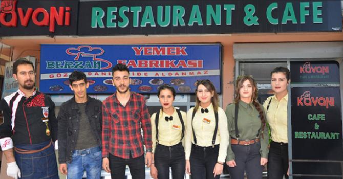 Kavani Cafe ve Restaurant ile Berzan yemek fabrikasından bir ilk