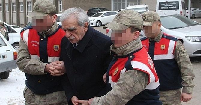 Ahmet Türk tartışılan fotoğrafı anlattı: Düşmemem için koluma giriyorlardı