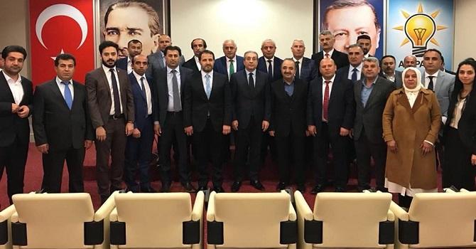 Ak Parti Heyeti Hakkari sorunlarını Ankara'ya taşıdı