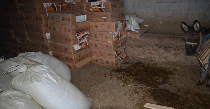54 bin 600 paket kaçak sigara ele geçirildi!