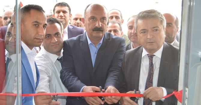 Hakkari'de 'Tatlıcı Şafak Usta' hizmete açıldı