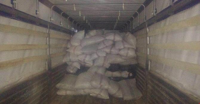 Yeniköprü'de 8 ton 660 Kg kaçak çay ele geçirildi