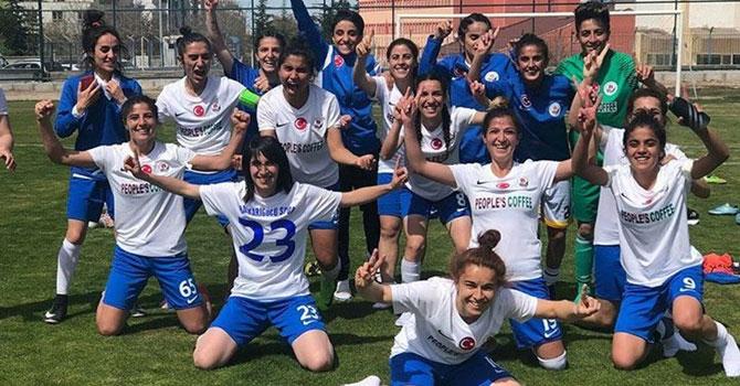 Hakkari Kadın Futbol Takımı 1. Ligde
