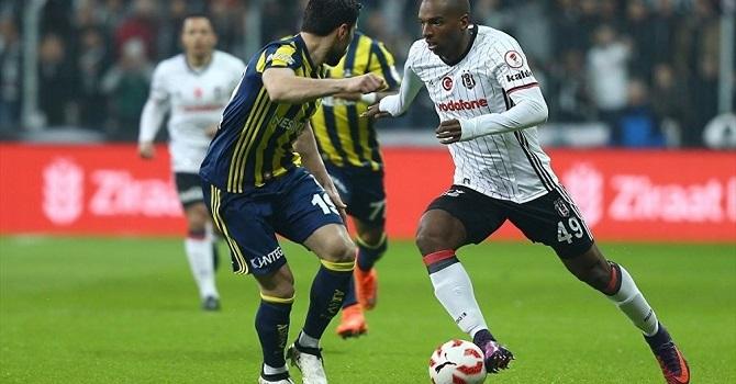Beşiktaş'ın 10 kişi kaldığı derbiyi Fenerbahçe 1-0 kazandı