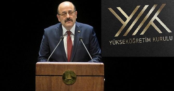 YÖK Başkanı: Sınavın ertelenmesi öğrenciler için şans