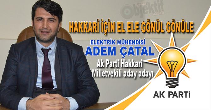 Hakkarili elektrik mühendisi Ak Parti'den aday adayı
